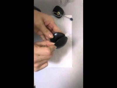 как снять магазинный магнит с одежды