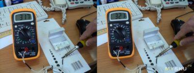 Как измерить температуру жала паяльника