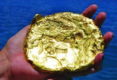 Почему золото не окисляется