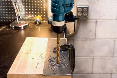 Как сверлить сталь дрелью