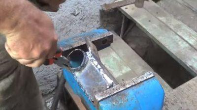 Как заварить профильную трубу и не прожечь