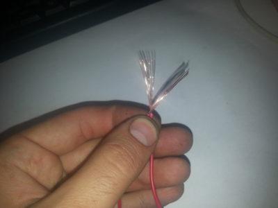 Как правильно скрутить 4 провода