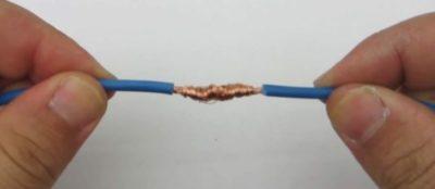 Какая должна быть длина скрутки проводов