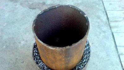 Как правильно заварить трубу снизу