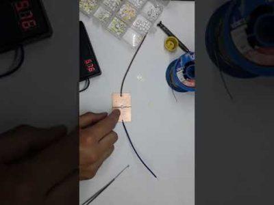 Как правильно паять SMD светодиоды