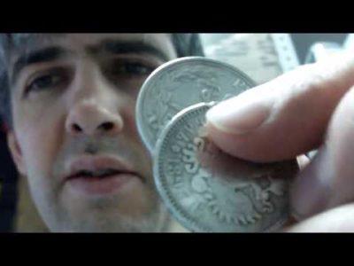 Как определить монета из серебра или нет