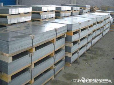 Сколько весит лист нержавеющей стали
