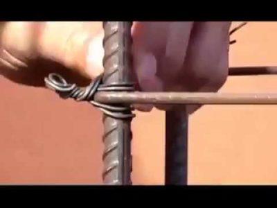 Как быстро вязать арматуру