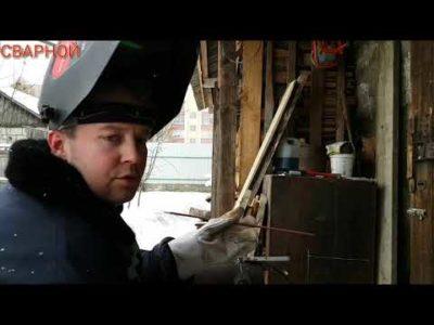 Как варить вертикальные трубы