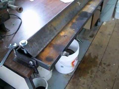Как сделать станок для гибки металла