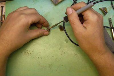 Как сделать паяльник из ручки