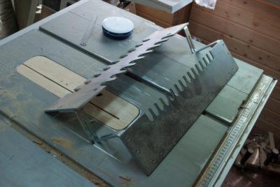 как согнуть алюминиевый лист