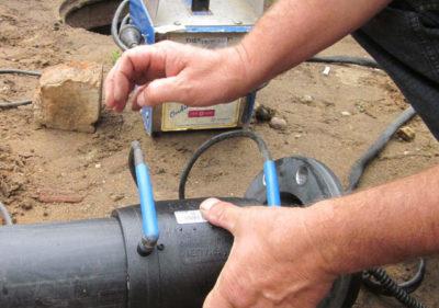 Как запаять трубу с водой