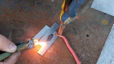 как сварить медные провода в домашних условиях