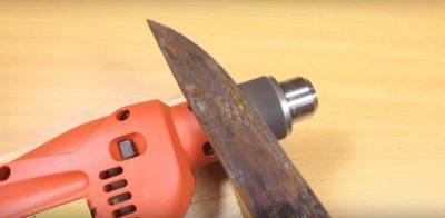 как заточить охотничий нож