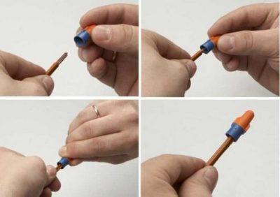Как соединить провода колпачками