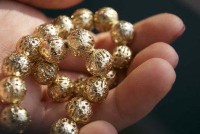 Как плавится золото
