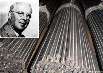 Кто и когда изобрел нержавеющую сталь
