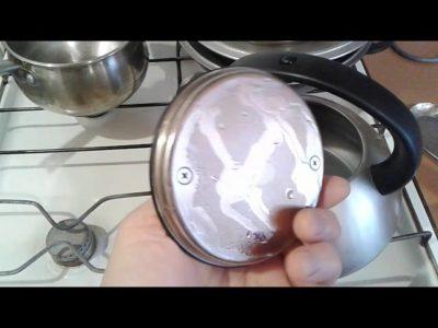Как чистить нержавейку от гари