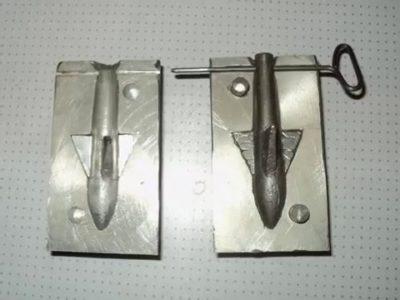 Как сделать форму для отливки свинца