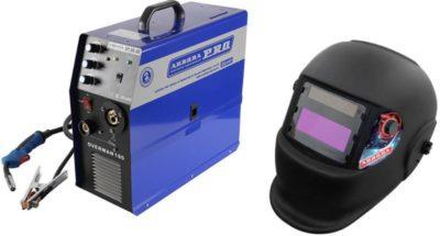 Как выбрать ток для сварки полуавтоматом