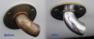 Как очистить ржавчину с хрома в домашних условиях